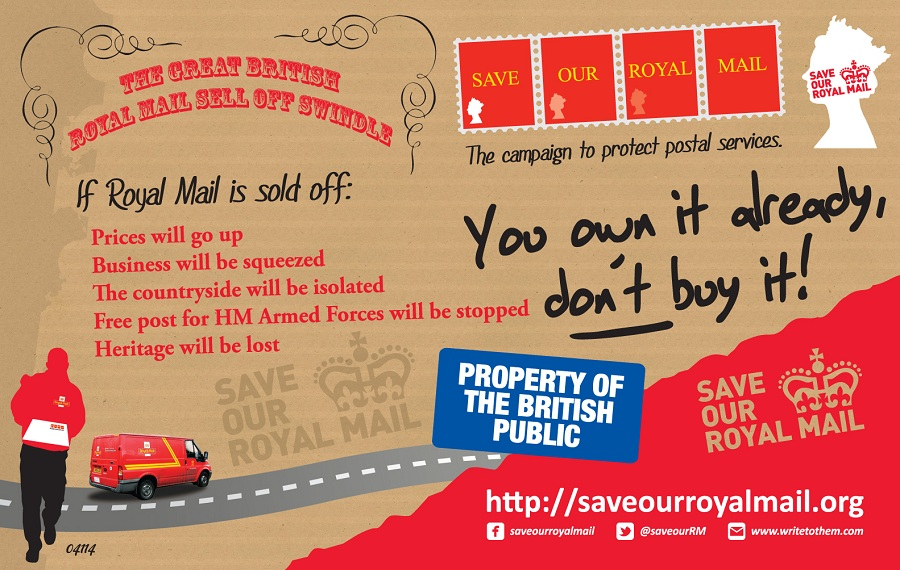 Metro newspaper advertising royal mail privatisation for Free home magazines by mail
